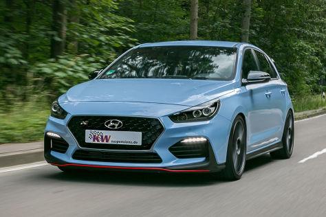 Hyundai i30 N Tuning: KW Variante-3-Fahrwerk