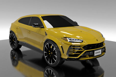 Lamborghini Urus Tuning: DMC Body- und Power-Kit
