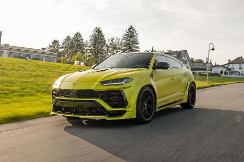 Lamborghini Urus Tuning: Novitec