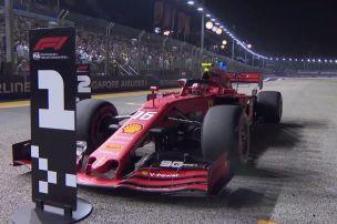 Formel 1: Ferrari auf Pole