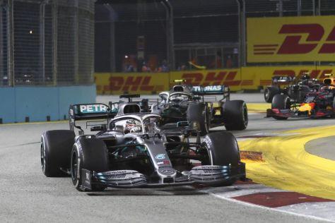 Mercedes pfeift Bottas zurück