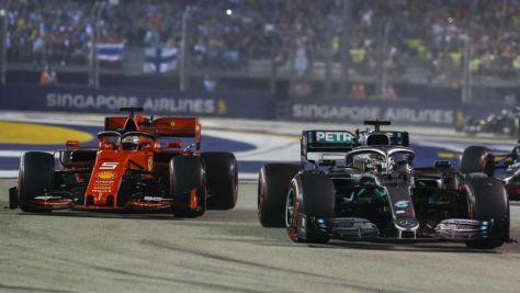 Formel 1: Hamilton forderte Undercut