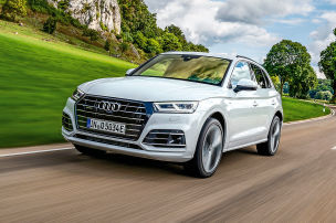 Audi Q5 Plug-in-Hybrid im Test