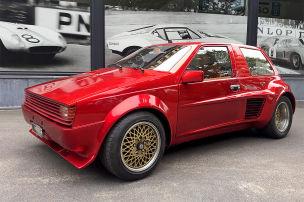 Einzelstück mit Golf-Optik und Ferrari-V8