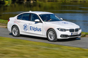 BMW 330e ZF EVplus: Test