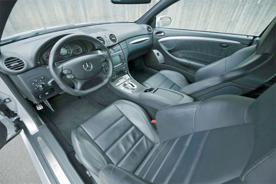 Mercedes CLK 63 AMG Black Series (2008)