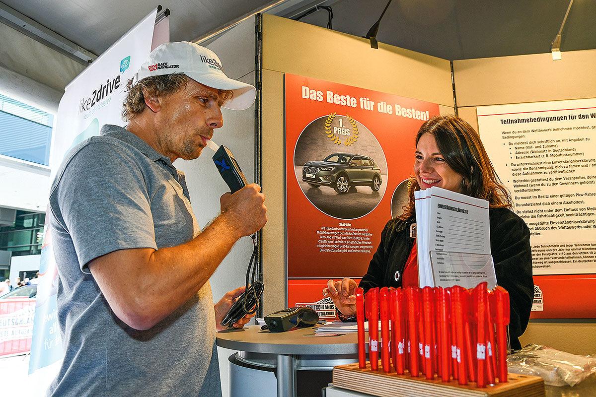 DBA 2019: Wie gut parkt's der Rennfahrer?