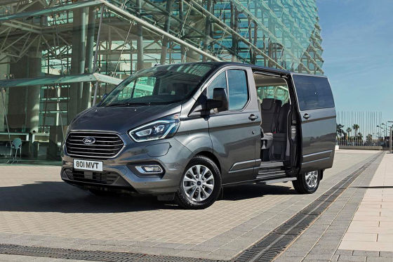 Ford Transit Custom Facelift: So fährt der Plug-in-Hybrid