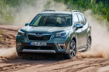 Subaru Forester 2.0 e-Boxer: Test