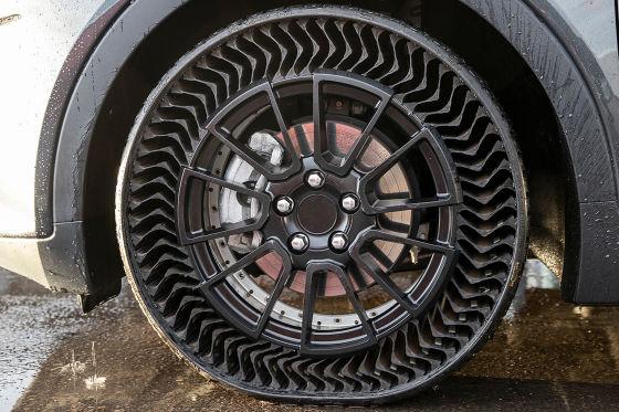 Schlauchlose Michelin Reifen Uptis