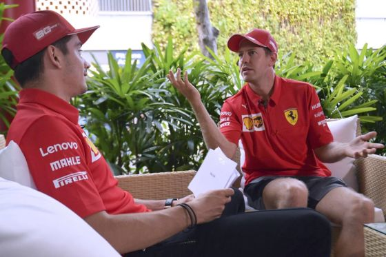 Vettel & Leclerc
