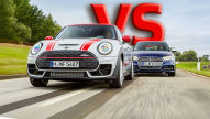Audi S3 Sportback, Mini Clubman JCW: Test