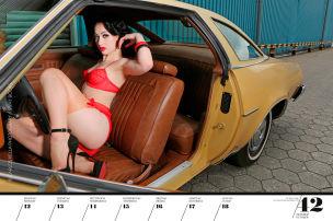 Neuer Pin-up-Kalender von Carlos Kella