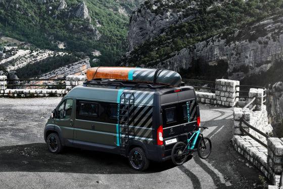 Offroad-Camper für drei Personen