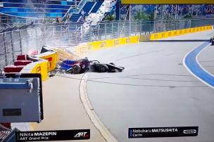 Nächster Unfallschock in Formel 2