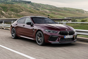 BMW M8 Gran Coupé mit Drift Mode