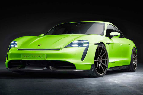 Porsche Taycan Tuning: Hennessey Performance Engineering