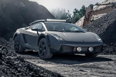 Lamborghini Gallardo Tuning: Mad-Max-Offroad-Version wird verkauft
