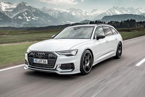 Audi A6 Tuning: Abt Sportsline Leistungs-Plus