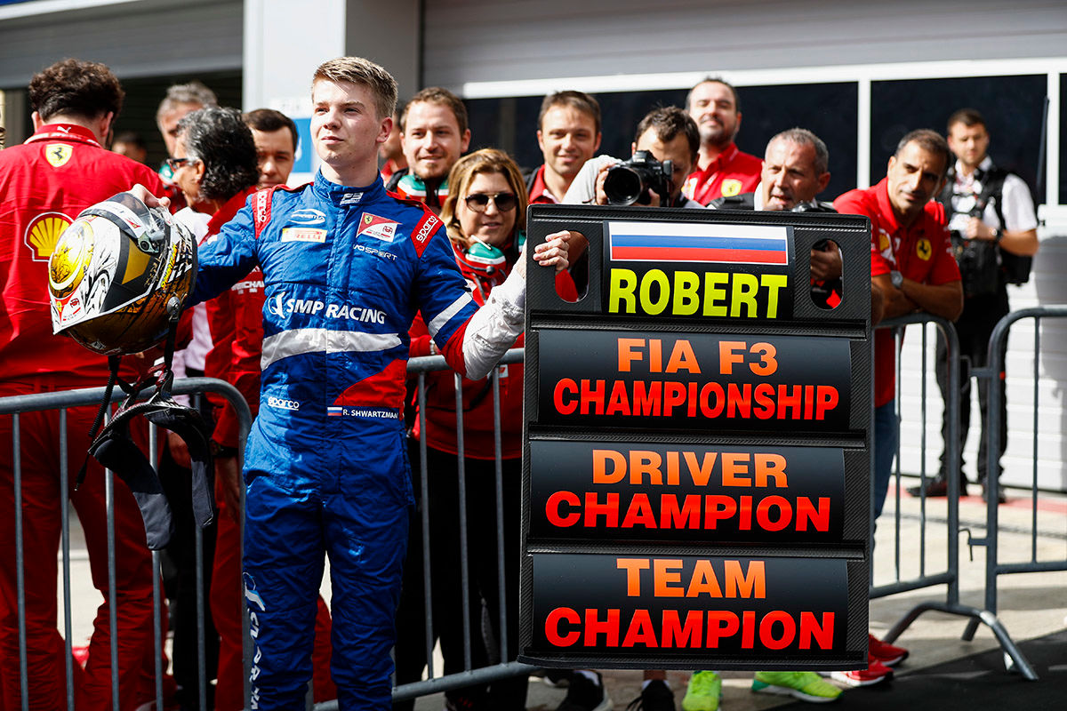 Formelsport: Die besten Nachwuchsfahrer 2019