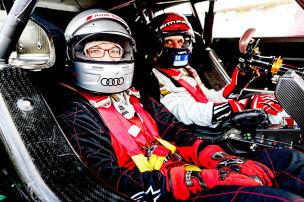 Chauffiert vom Formel-1-Champion