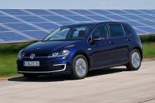 VW e-Golf g�nstiger als ein normaler Golf