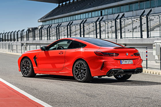 BMW M8 Competition im Test