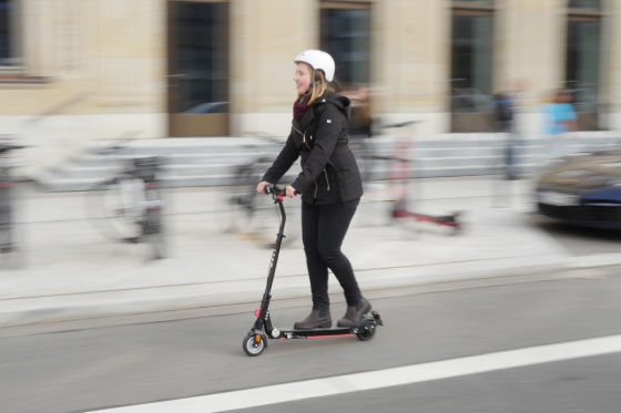 800-Euro-Scooter im Test