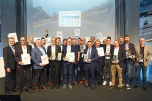 Preisverleihung: Goldenes Reisemobil 2019