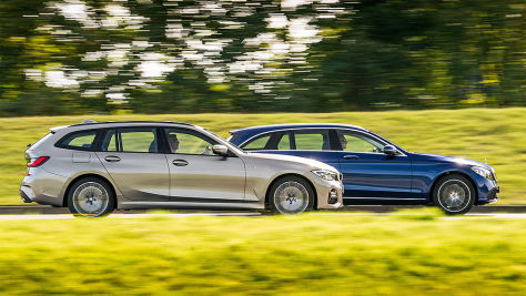 3er Touring vs. C-Klasse T-Modell: Test