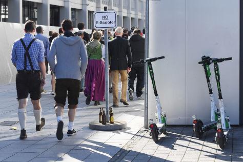 Oktoberfest: Hunderte Führerscheine weg