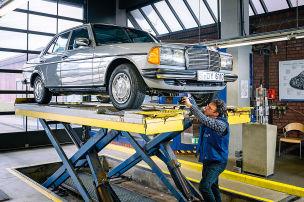 Die Schwächen des Mercedes W 123