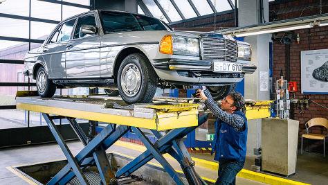 Technik-Check: Mercedes W 123