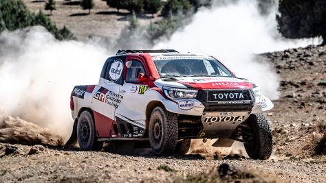 Rallye Dakar: Trotz Unfall