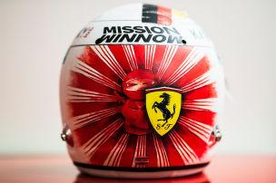 Ninja-Helm f�r Vettel in Suzuka