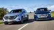 Audi e-tron, Mercedes EQC: Test