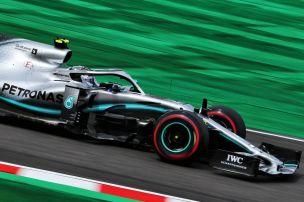 Mercedes gibt Ton in Suzuka an