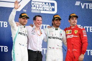 Mercedes-Doppelsieg in Sotschi