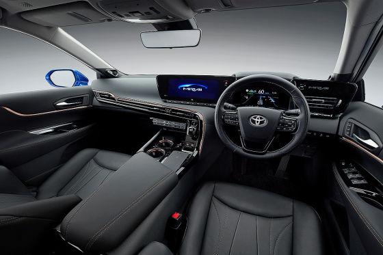 Neuer Toyota Mirai mit spektakulärer Optik
