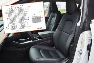 Tesla denkt die Sitzheizung neu