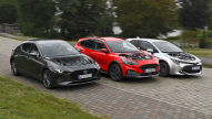 Ford Focus, Mazda3, Toyota Corolla: Test