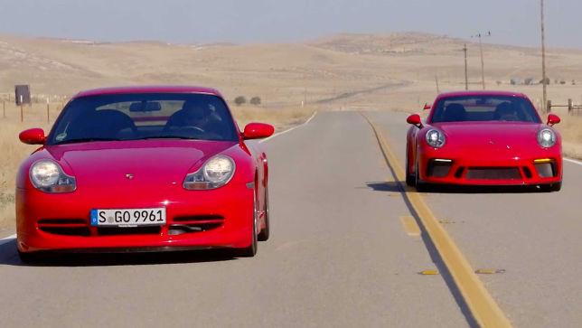 Porsche 911 GT3 - Vergleich Alt gegen Neu