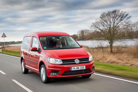 VW Caddy: Leasing