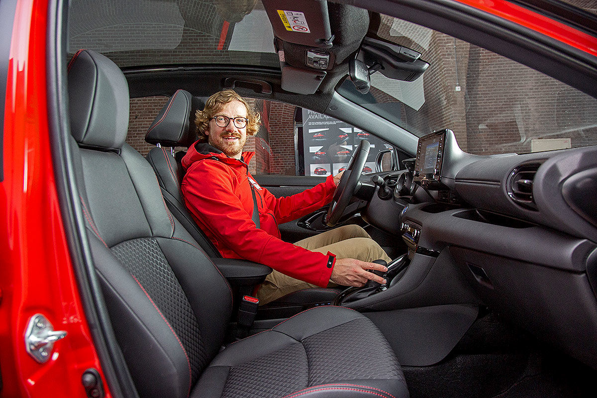 Toyota Yaris Hybrid (2020): Bilder