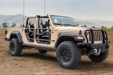 Jeep Gladiator XMT Concept: Vorstellung