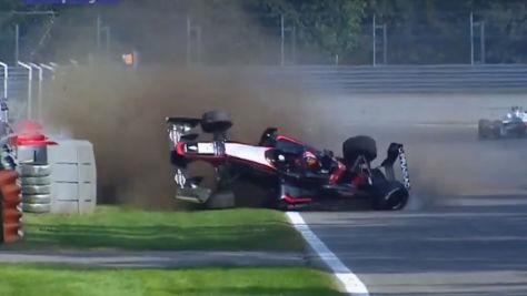 Formel 3: Doohan jr. crasht