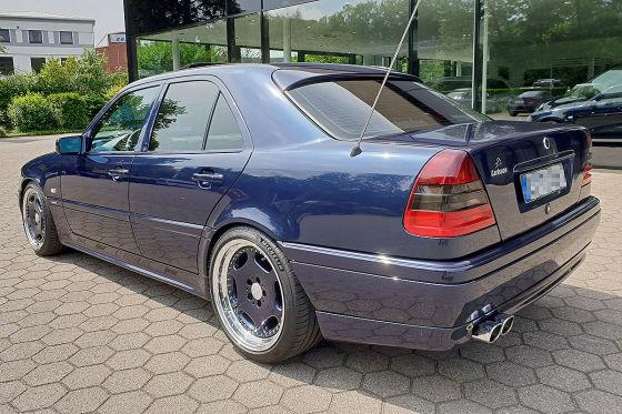 Mercedes C56: Klassiker des Tages