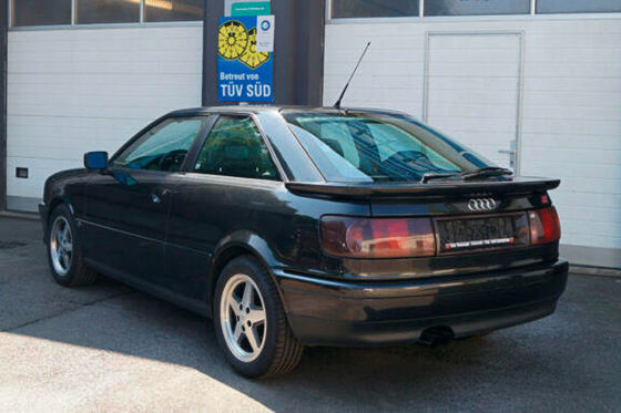 Audi Coupé als Wertanlage