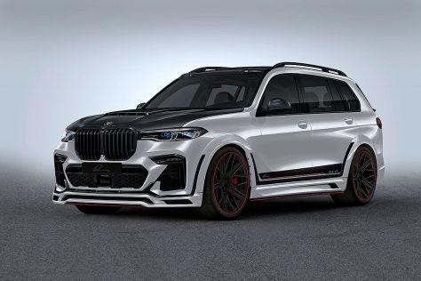 BMW X7 Tuning: Lumma Breitbau-Teile