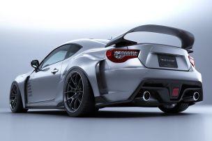 Supra-Spoiler für den Toyota GT86